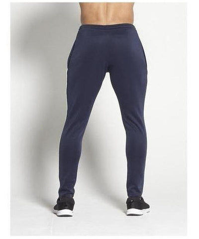 Pursue Fitness BreathEasy Piping Joggers Navy-Pursue Fitness-Gym Wear