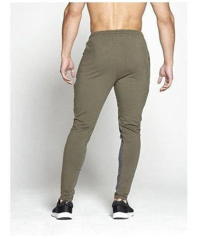 Pursue Fitness Pro Fit Tapered Joggers Khaki-Pursue Fitness-Gym Wear