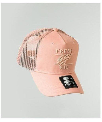 Fresh Ego Kid Mesh Trucker Cap Peach-Fresh Ego Kid-Gym Wear
