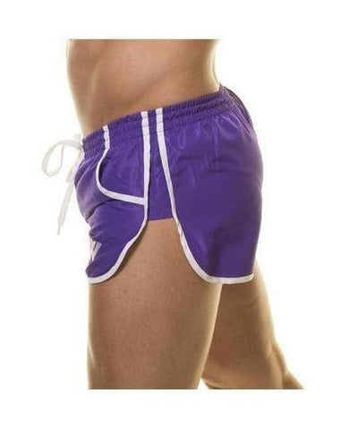 Aspire Wear Aesthetic Shorts Purple-Aspire Wear-Gym Wear