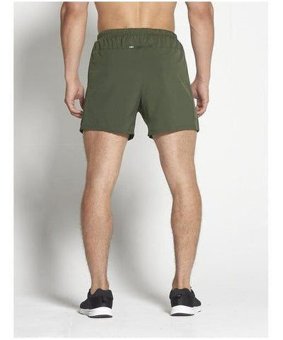 "Pursue Fitness 6"" Gym Shorts Khaki-Pursue Fitness-Gym Wear"