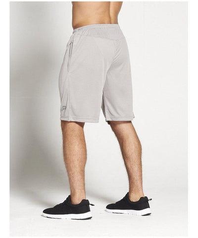 Pursue Fitness BreathEasy 3.0 Shorts Grey-Pursue Fitness-Gym Wear