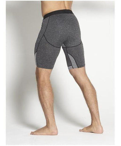 Pursue Fitness Compression Shorts Shadow Grey-Pursue Fitness-Gym Wear