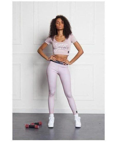 Sixth June Gothic Sport Leggings Pink-Sixth June-Gym Wear
