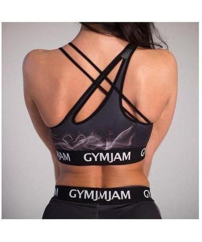 GymJam Smoke Sports Bra-GymJam-Gym Wear