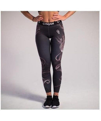 GymJam Smoke Leggings-GymJam-Gym Wear