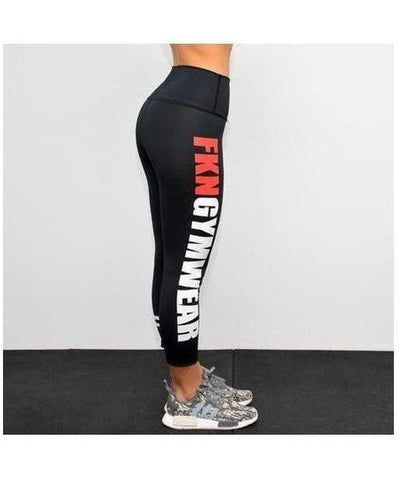 Womens FKN STFO 7/8 Leggings-FKN Gym Wear-Gym Wear