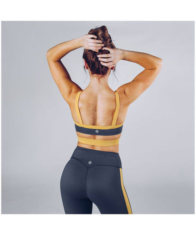 Workout Empire Strike Sports Bra Grey