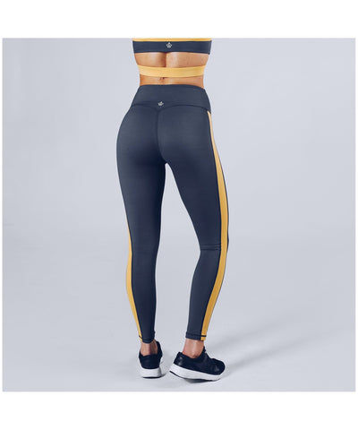 Workout Empire Strike Leggings Grey-Workout Empire-Gym Wear