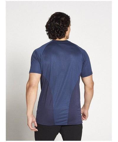 Pursue Fitness Breatheasy 3.0 T-Shirt Navy-Pursue Fitness-Gym Wear