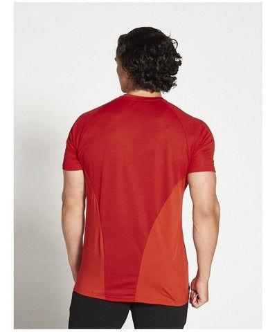 Pursue Fitness Breatheasy 3.0 T-Shirt Red-Pursue Fitness-Gym Wear