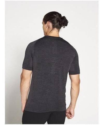 Pursue Fitness XENO Seamless T-Shirt Black-Pursue Fitness-Gym Wear