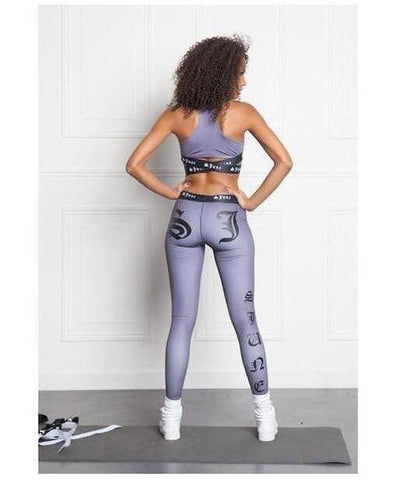 Sixth June Gothic Sport Leggings Dark Blue-Sixth June-Gym Wear