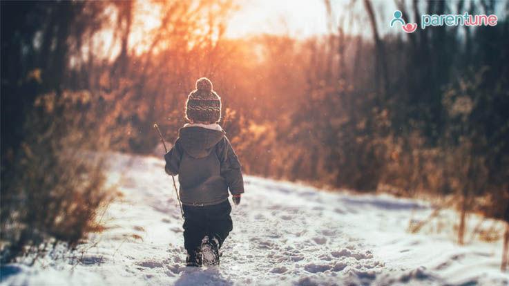 पाँच आदतें जो आपको इस सर्दी अपने बच्चों को सिखानी चाहिए