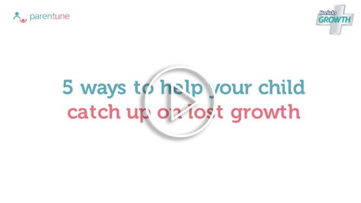 5 ways to help your child catch up on lost growth