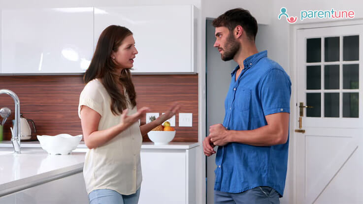8 common fights of expecting couples
