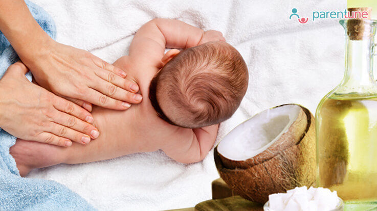 Benefits Of Coconut Oil Massage For Babies Infants