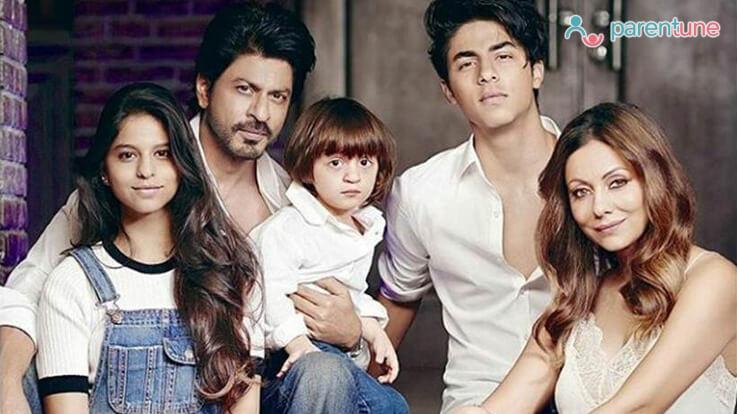 कुछ इस तरह निभाते है पिता होने की जिम्मेदारी सुपर स्टार शाहरुख़ खान