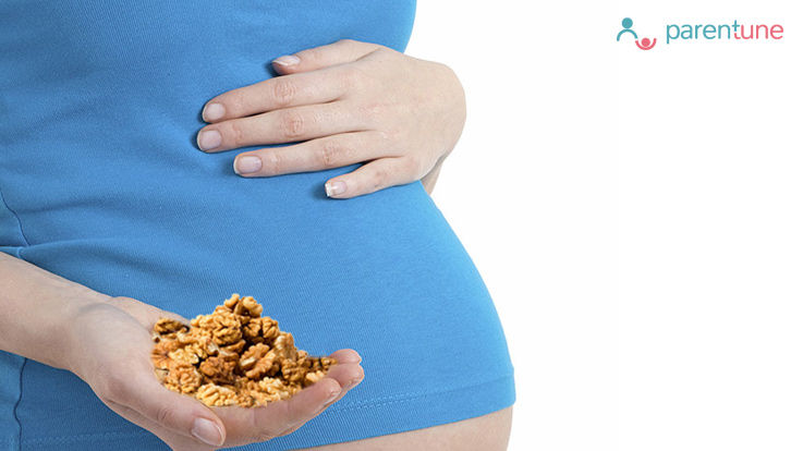 गर्भावस्था में अखरोट खाने के लाभ
