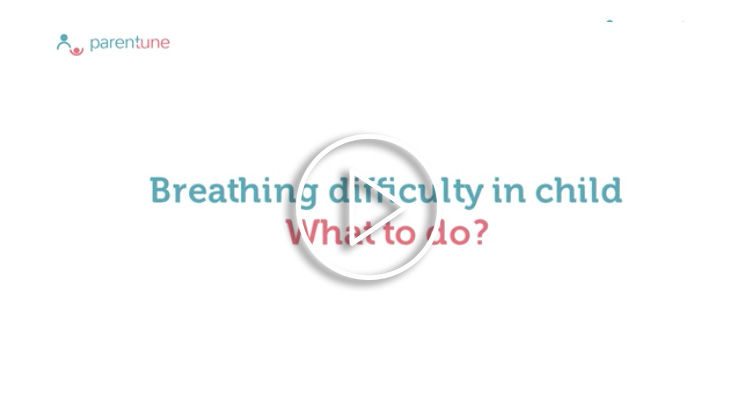 Breathing difficulty in child What to do