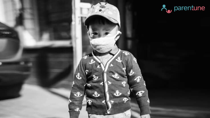 How should you protect your child from pollution