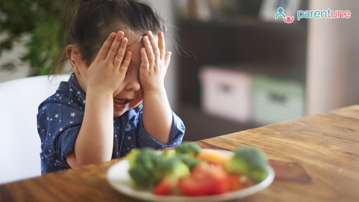 How to get our child used to healthy food