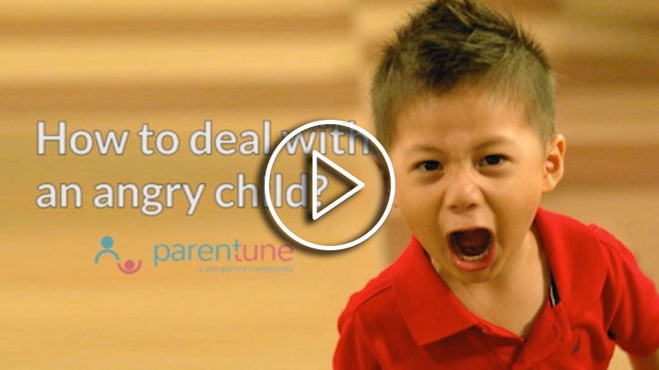 How to manage when your child gets angry