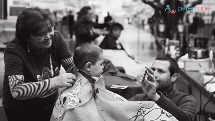 शिशु के बाल कटवाते समय रखें ख्याल