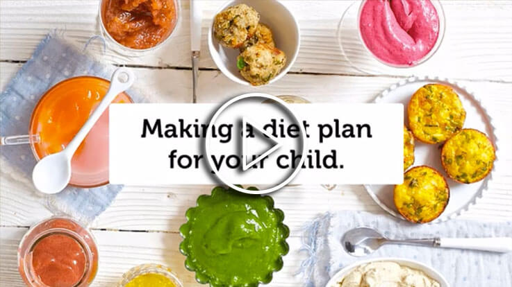 Making Diet Plan for your child