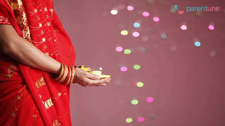 Pregnancy and pollution during Diwali