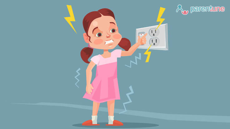What To Do If Your Child Accidentally Gets An Electric Shock