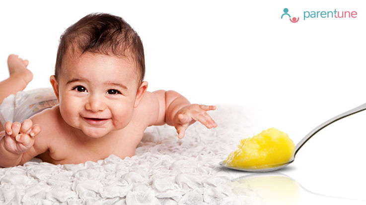 When How To Give Ghee to Your Baby Infant and Its Health Benefits