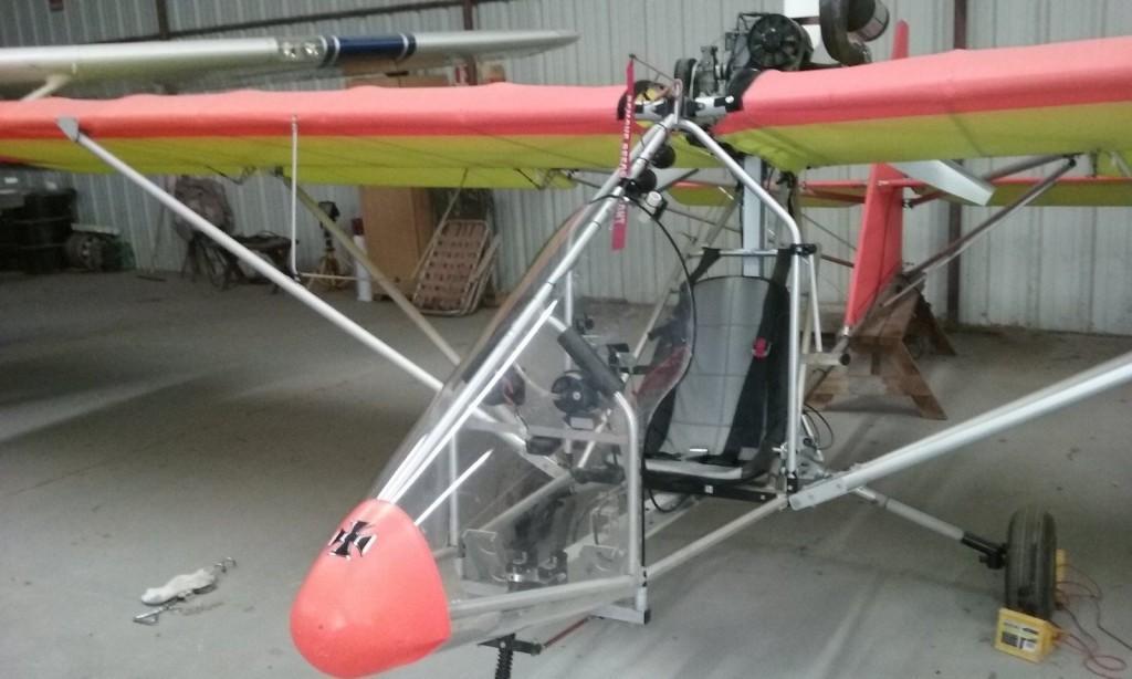 Aerolite 103 Ultralight airplane