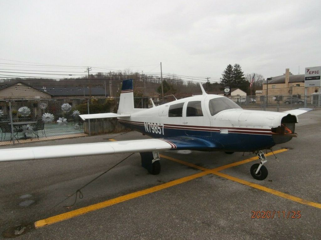 almost complete 1964 Mooney M20E Airframe aircraft