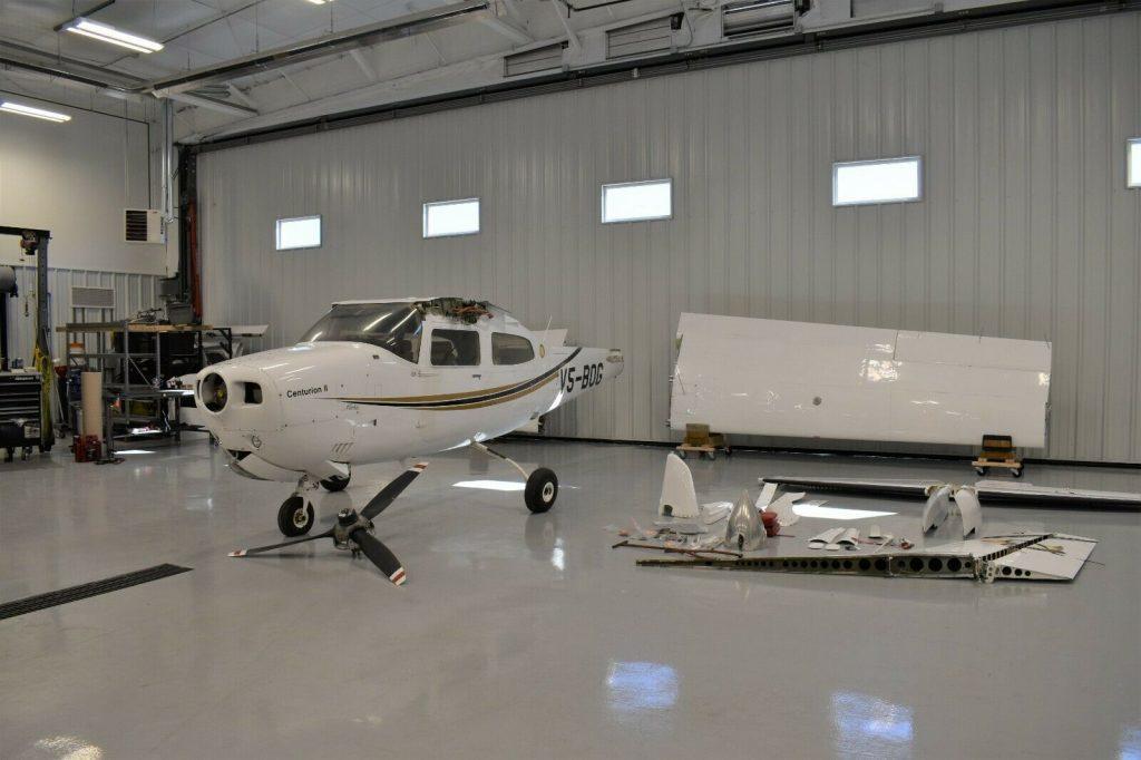 1974 Cessna 210L Centurion aircraft [project plane]