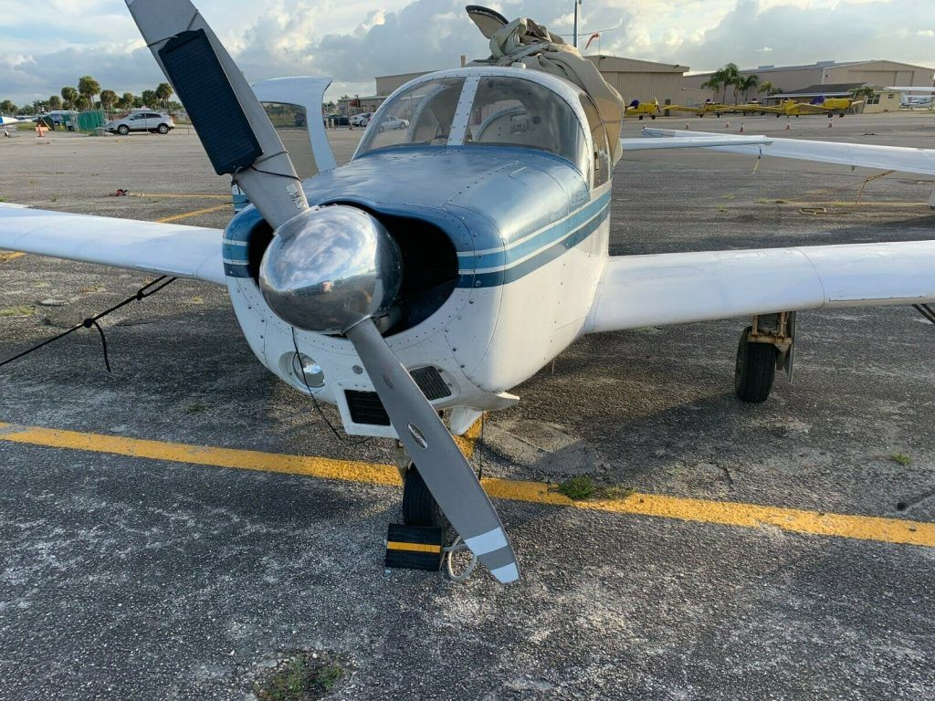1963 Mooney M20D/C aircraft [perfect for cross country trips]