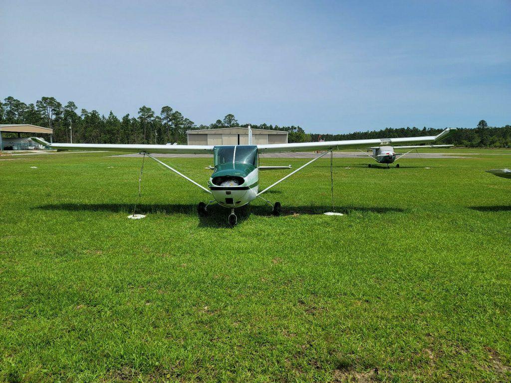 1958 Cessna 172 Airframe aircraft [damaged]