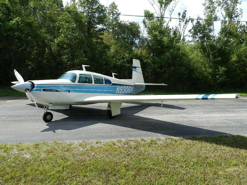 1969 Mooney m20e Chaparral aircraft [Original low time]
