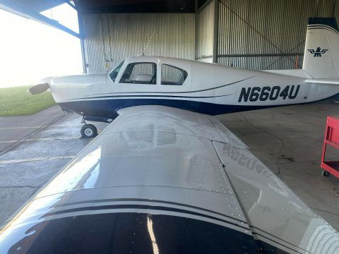 1963 Mooney M20c aircraft [brand new paint] for sale