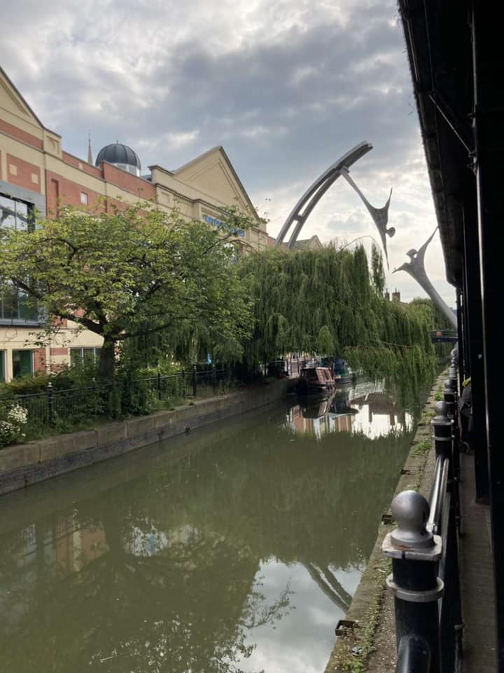 lovely sites of the canal in Lincoln