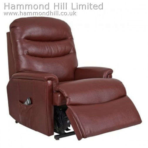 Celebrity Pembroke Recliner Leather 3