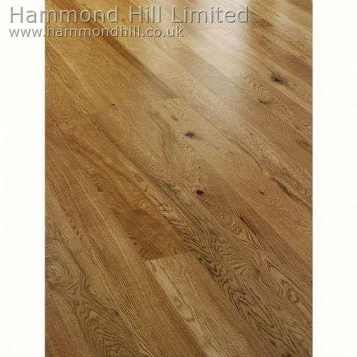Oak Rustic Lacquered (HHA101) Flooring