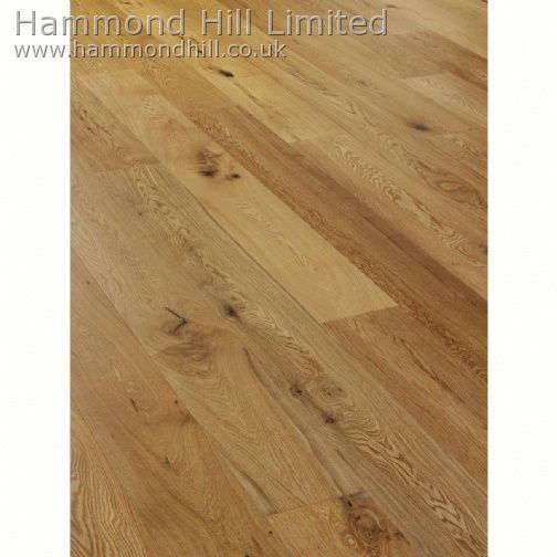 Oak Wide Rustic Matt Lacquered (HHA110) Flooring