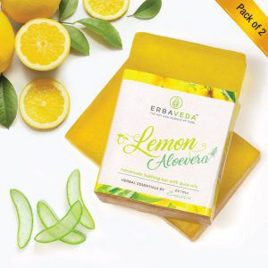 Lemon Aloevera Handmade Soap