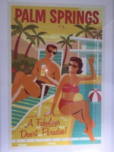 Palm Springs vacation rental poster