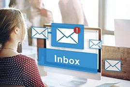 inbox icon on computer