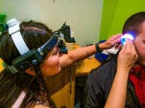 Private Earwax Removal in London using microsuction, the safest method of removing earwax