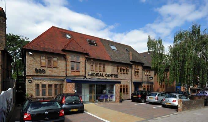 PrivateEar Wax Removal Microsuction Clinic inside 999 Medical , Finchley Road, Golders Green, North London NW11 - just eight minutes' walk from Golders Green station.
