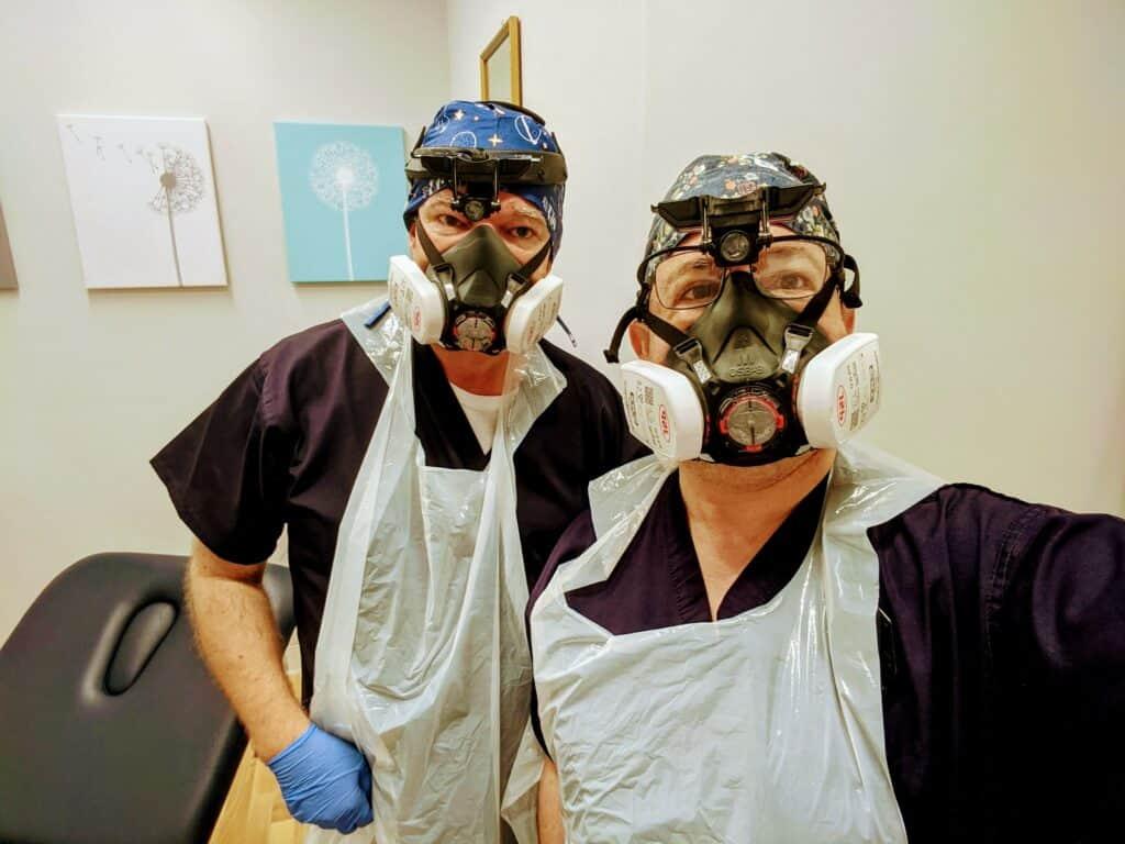 david glen with fellow ear wax removal expert jason levy