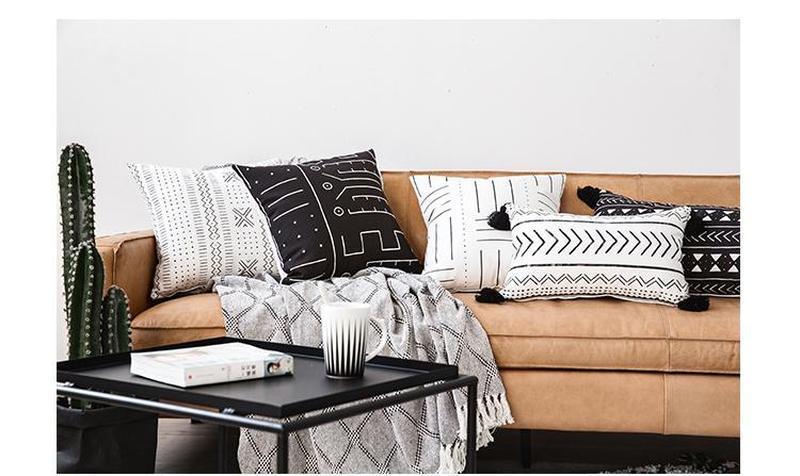 Abby Moroccan Cushion Cover-Heart N' Soul Home-45 x 45 cm No Insert-Heart N' Soul Home